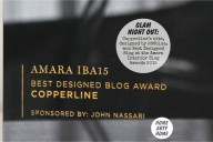 Glam Night Out at the Amara Interior Blog Awards