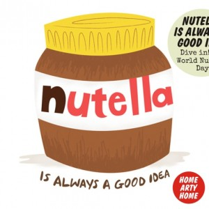 World Nutella Day homeartyhome