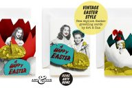 Vintage Easter Style - Art & Hue greeting cards